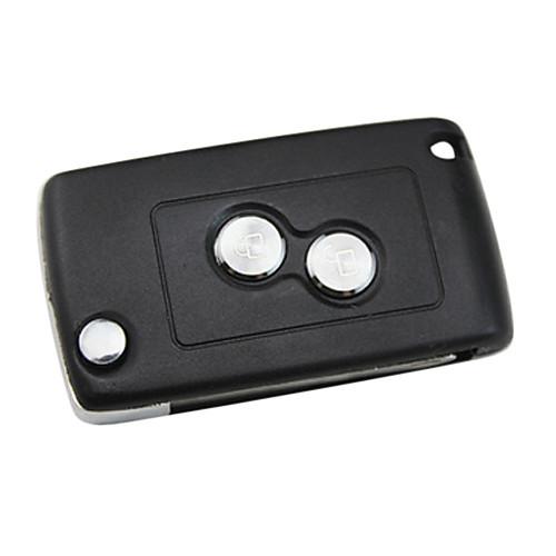2-кнопка Удаленное оболочки ключ для Peugeot 206 Lightinthebox 429.000