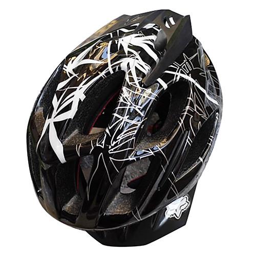 Fox EPS  PC 3D Черный противоударный шлем велосипеда Lightinthebox 1288.000