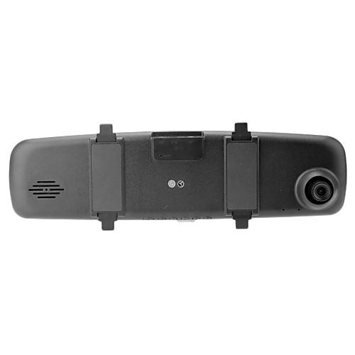 DV400F 1080P Автомобильный видеорегистратор Зеркало с HD 1920  1080P 10fps  G-Sensor  140 градусов широкоугольный Lightinthebox 1288.000