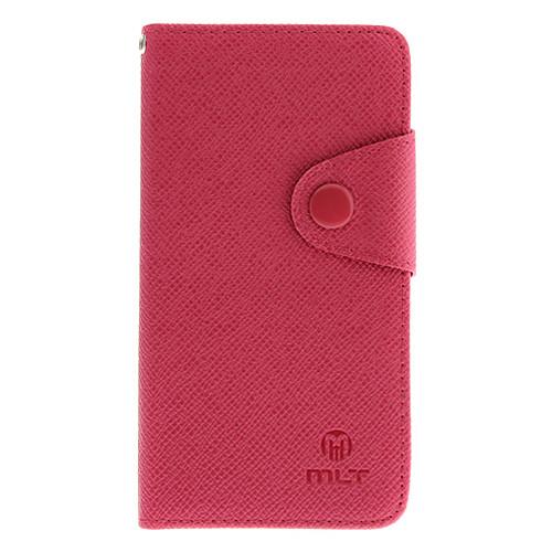 Крест зерна искусственная кожа Полный Дело Корпус с Слот для карты и матовая задняя сторона обложки для HTC One/M7 (разных цветов) Lightinthebox 308.000