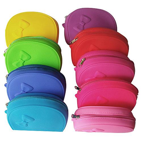 Silk вложенности смешивания кошелек макияж с бантом Pattern Lightinthebox 171.000
