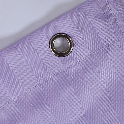 Полиэстер Shower Curtain фиолетовыми полосами Водонепроницаемость плотной ткани-2 Имеющиеся размеры Lightinthebox 1116.000