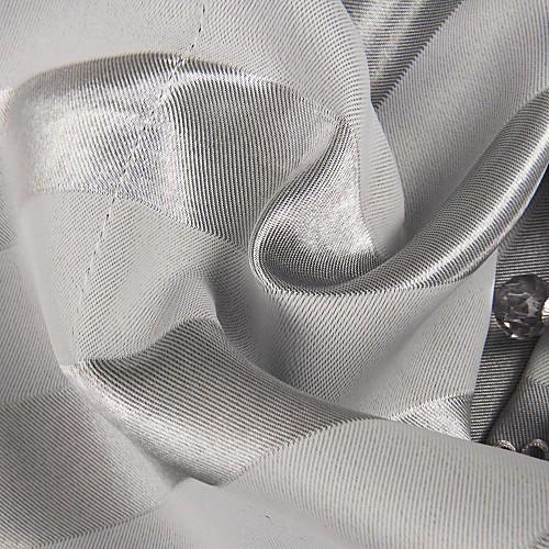 Современный серый Полоса Зубчатые Valance Lightinthebox 858.000