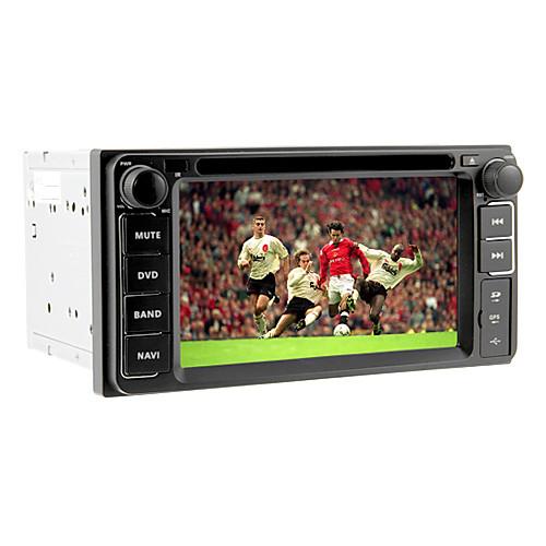 6.2inch 2 DIN Universal DVD-плеер автомобиля для Toyota до 2006 с 3G, WiFi, GPS, IPOD, RDS, BT, ТВ, сенсорный экран Lightinthebox 9453.000