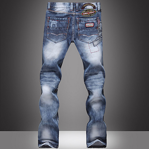 Топ бренд мужской мытый брюки хлопок Fasion Lightinthebox 2103.000