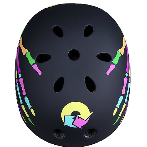 Черный матовый с когтями Скейтборд / Скейт Шлем EPS Внутренняя Велоспорт Шлем Лыжный шлем Lightinthebox 1288.000