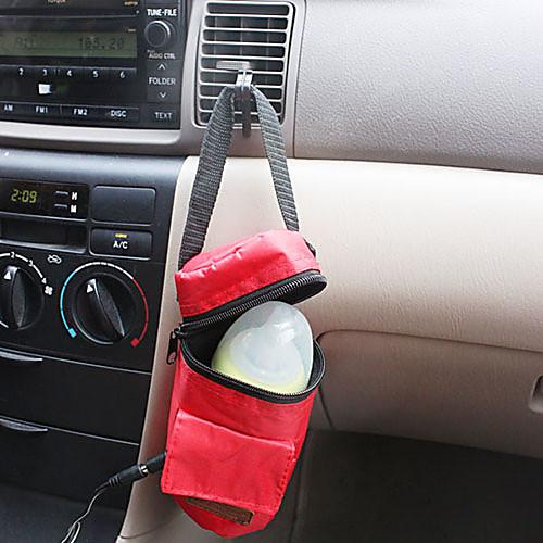12 автомобилей Молоко теплее Универсальная сумка Детские изоляции подогревателя грелки в автомобиль / Электрические теплые мешок бутылки Lightinthebox 386.000