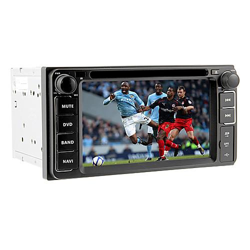 6.2inch 2 Дин Автомобильный DVD-плеер для Toyota до 2006 с GPS, IPOD, RDS, BT, телевизор, сенсорный экран Lightinthebox