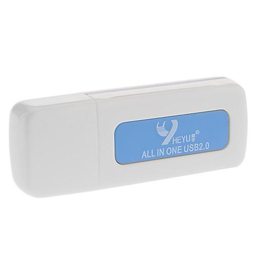 USB 2.0 Hi-Speed SD / MicroSD / MMC Card адаптер Lightinthebox 55.000