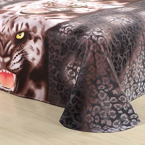 4 шт Burshed Ткань Черного Воина печатных 3D пододеяльник Эффект указан