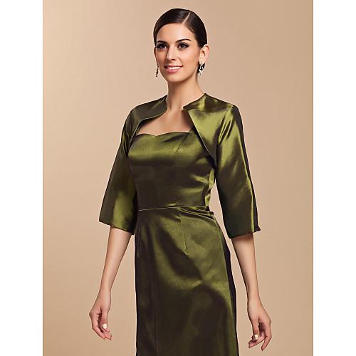 Элегантный полурукав тафты свадьба / Вечерние куртка / Wrap (другие цвета) Lightinthebox 751.000