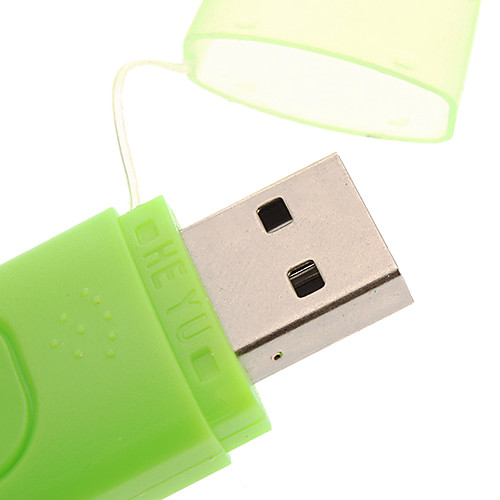 USB 2.0 Micro SD / TF Card Reader со светло-зелеными Lightinthebox 85.000