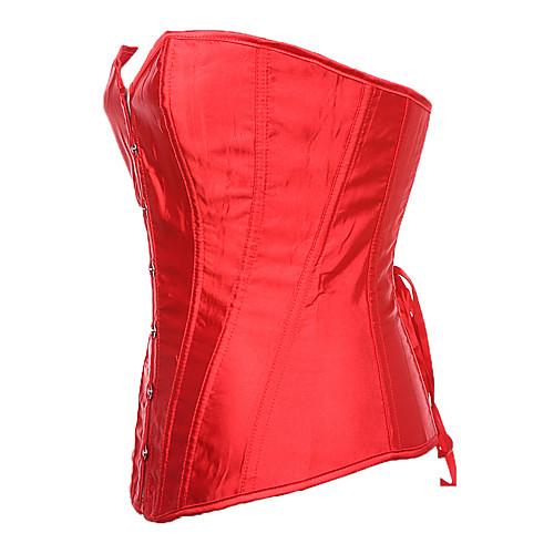Дарлинг Одежда Женская Красный Sexy Лодка шеи корсет Lightinthebox 429.000