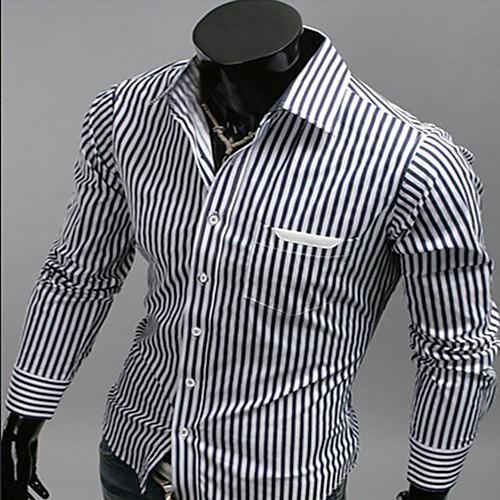 INMUR кожи сшивание полосы с длинным рукавом Lightinthebox 429.000