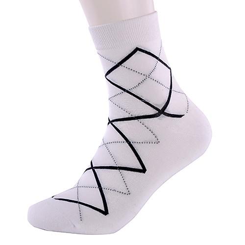 Мужская 5 пар ромба спортивные носки хлопок Lightinthebox 813.000