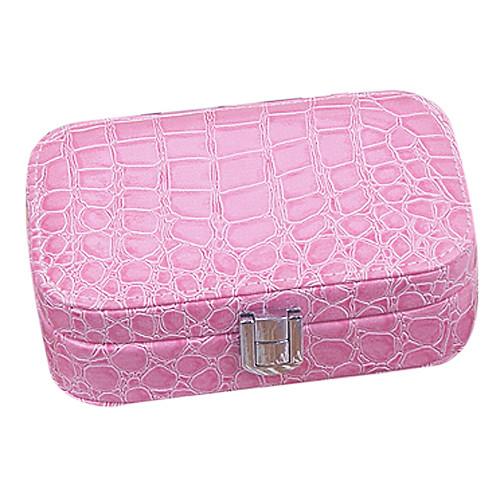 Аллигатор Кожа PU Женские Pattern Pinkbabi Jewelry Box Lightinthebox 558.000