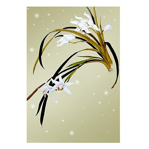 Китайский стиль Орхидея Sheer Тень Lightinthebox 1718.000