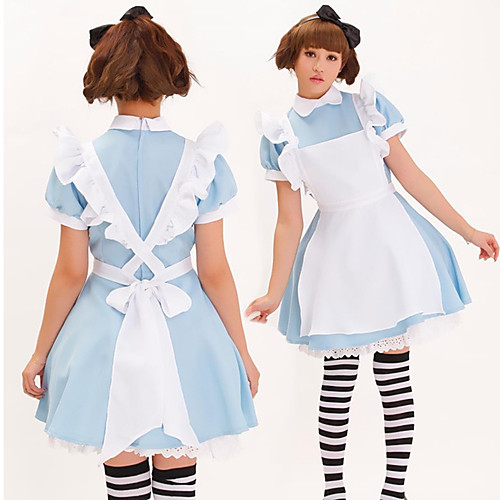 Приключения Алисы в стране чудес синей форме полиэстер дева Lightinthebox 1374.000