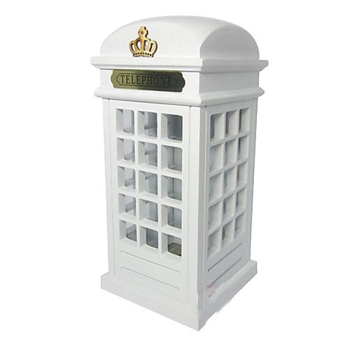 Современная Творческая Телефонная будка Дизайн Копилка Lightinthebox 1073.000
