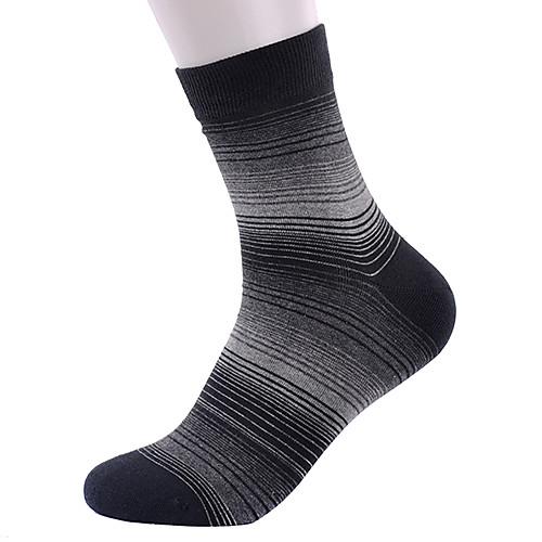 Мужская 3 пары носков Непоследовательность Stripes Спорт Хлопок Lightinthebox 558.000
