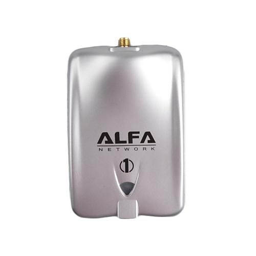 АЛЬФА 1000 мВт Высокая мощность 2,4 ГГц 802.11b / г 150Mbps USB 2.0 Wireless WiFi сетевой адаптер - серебро Lightinthebox 601.000