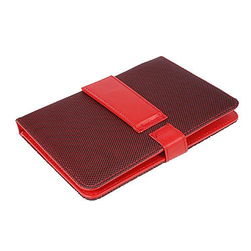 9-дюймовый сетка PU кожаный чехол с микро-порт клавиатуры и резервных Lightinthebox 429.000
