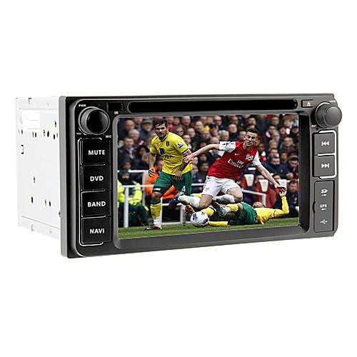 6.2inch 2 Дин Автомобильный DVD-плеер для Toyota до 2006 с GPS, IPOD, RDS, BT, сенсорный экран Lightinthebox 7390.000