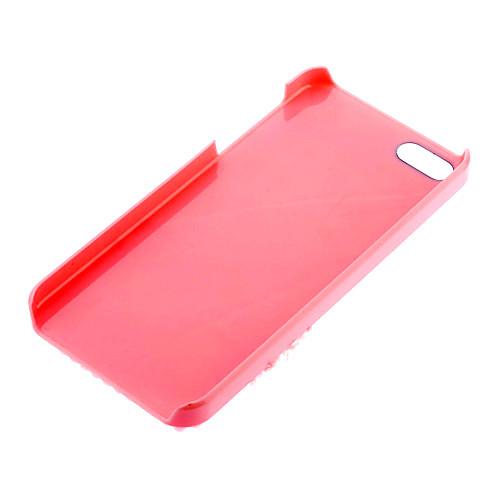 Красивый узор бантом с жемчугом и кружевами Футляр с ногтей Клей для iPhone 5/5S (разных цветов) Lightinthebox 171.000