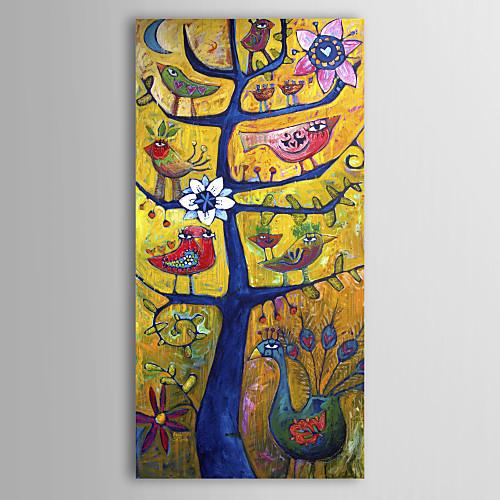 Натянутым холстом печати искусств Ботанический Santosha Дерево Сара Катена Lightinthebox 1288.000