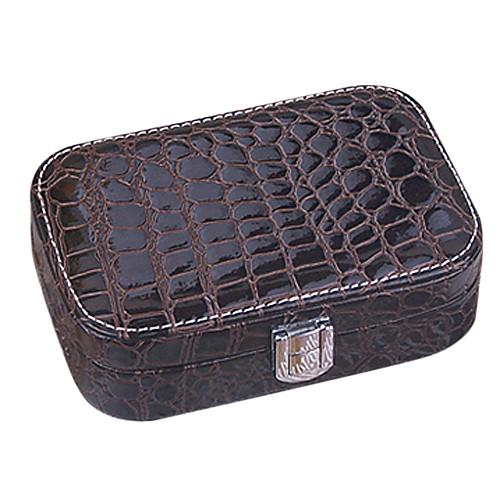 Аллигатор Кожа PU Женские Pattern Pinkbabi Jewelry Box Lightinthebox 558.000
