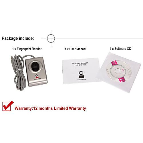 Комплект цифрового считывателя отпечатков пальцев USB Биометрический сканер отпечатков пальцев URU4000B программного обеспечения разработчика SDK Lightinthebox 3437.000