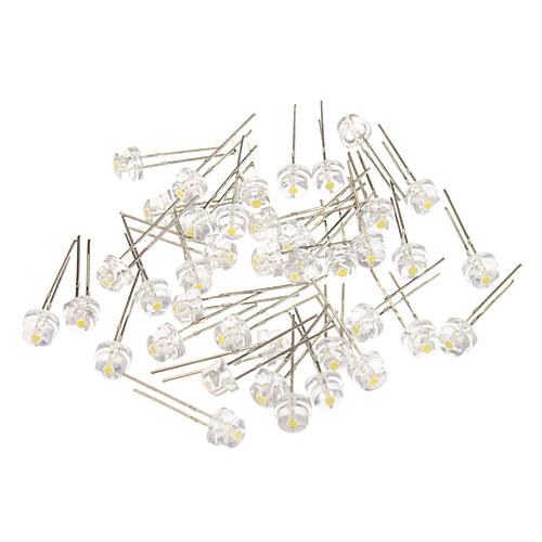 4 Различные белый свет светодиодных светоизлучающих диодов (3-3.2V, 40шт)