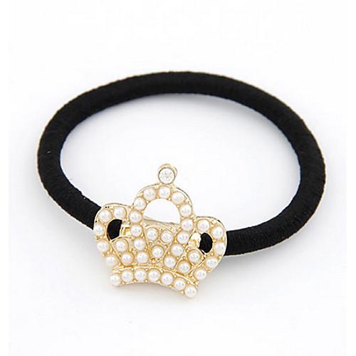 Корейской моде сладкие Crown Pearl связь волос Lightinthebox 128.000