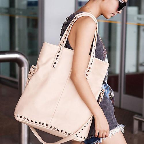 Мода заклепки сумка через плечо