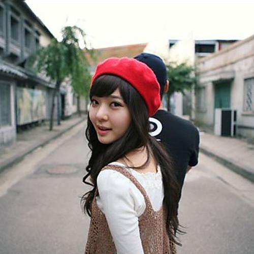 Мода Шерсть Берет Hat Lightinthebox 858.000
