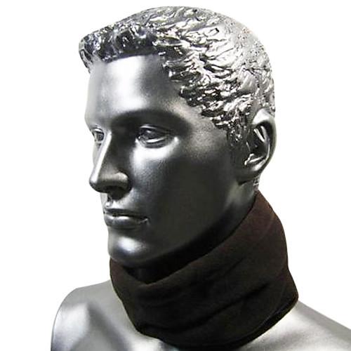 Черная флисовая маска для велосипедистов