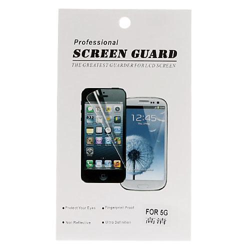 Защитные ПЭТ матовая передняя панель  крышка Защитная пленка Набор для iPhone 5/5S Lightinthebox 85.000
