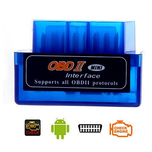 диагностический инструмент портативный мини v1.5 ELM327 OBD2 / OBDII Bluetooth авто автомобиль сканер для андроид Lightinthebox 472.000