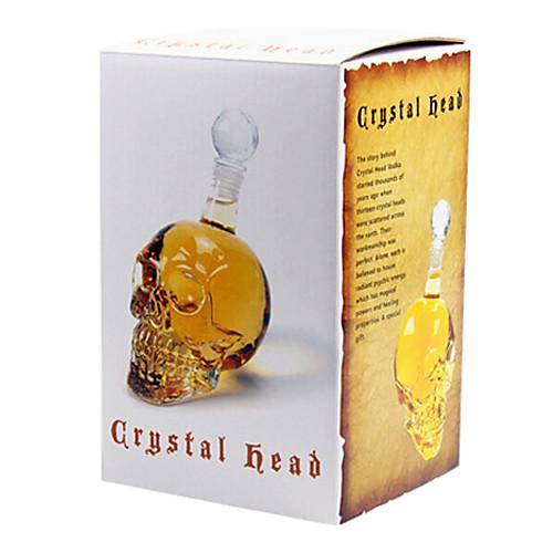 Графин стеклянный 500мл в форме черепа Lightinthebox 558.000