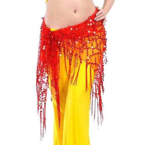 танцевальная одежда полиэстера танец живота пояса с кистями для дам (больше цветов) Lightinthebox 360.000