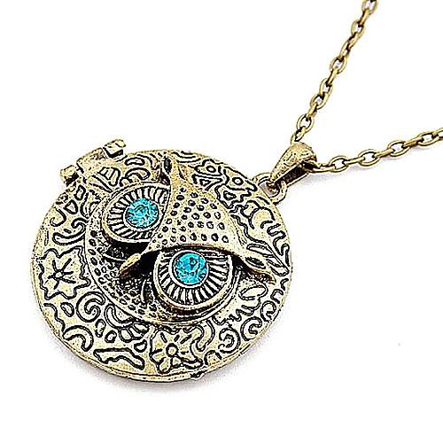 Европейских и американских ретро сова свитера цепи ожерелье круглой коробке с N31 Lightinthebox 128.000