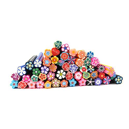 20шт Симпатичные 3D Цветы Nail Art FIMO Гончих стержни украшения Lightinthebox 128.000