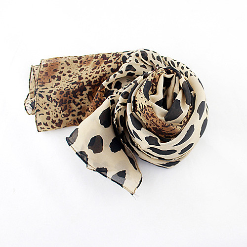 Мода Leopard шарф Lightinthebox 558.000