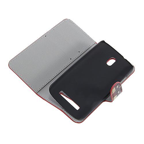 Пу кожаный чехол всего тела для HTC Desire 500 Lightinthebox 300.000