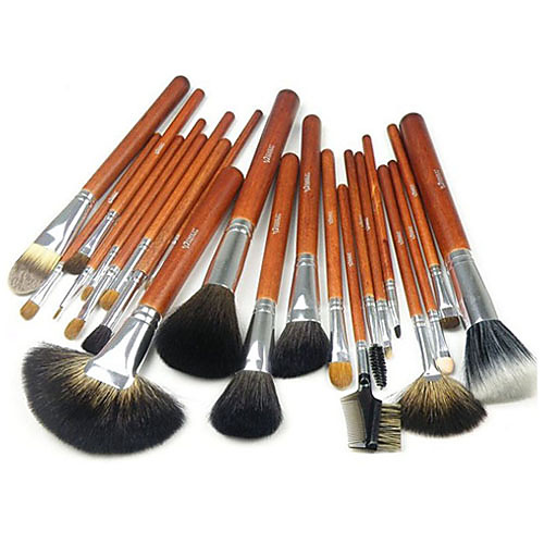 Pro Высокое качество 22 ПК натуральных волос норки кисти для макияжа указан с мешком (2 цвета) Lightinthebox 2105.000