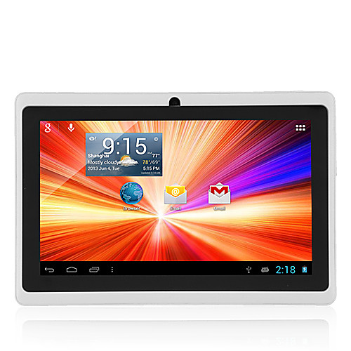7 дюймов Android Tablet (Android 4.4 1024600 Quad Core 512MB RAM 8GB ROM), Белый