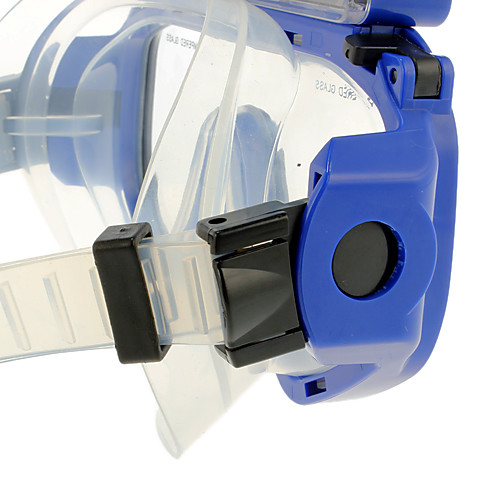 5,0 Мп HD 720P Micro SD Водонепроницаемый Дайвинг Цифровые камеры Маска Очки с 5.0MP CMOS сенсор ЖК-экран-Blue