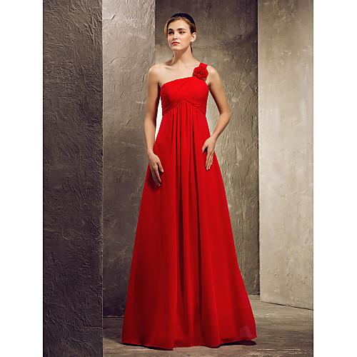 Платье для свидетельницы в пол из сатина Lightinthebox 3402.000