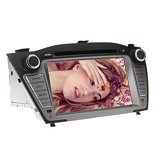 параболическая  7 дюймов 2din Car DVD Player для Hyundai Tucson ix35 2009-2013 Поддержка GPS, BT, RDS, игры, ставку Lightinthebox 9582.000
