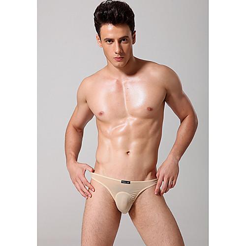 Мужская сексуальные сводки Трехмерное проектирование сумка Сексуальная полупрозрачная Низкая талия нижнее белье Lightinthebox 223.000